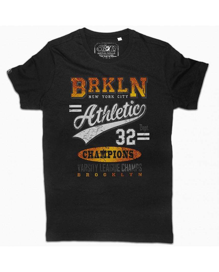 camiseta orgánica champion negra