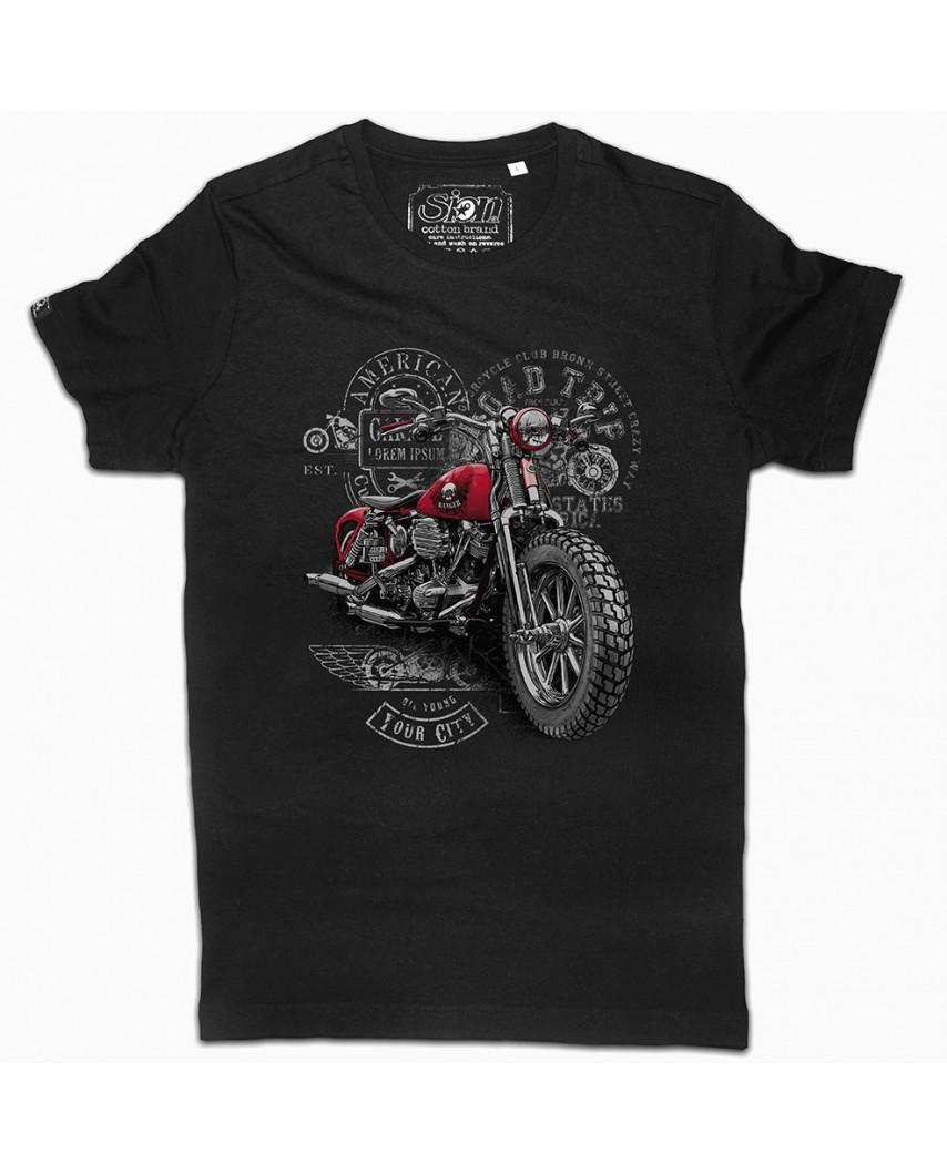 camiseta city orgánica frontal