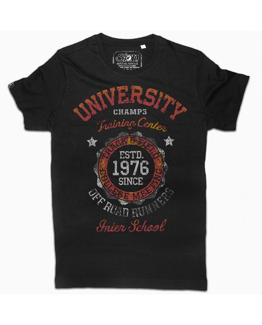 camiseta orgánica inter negra