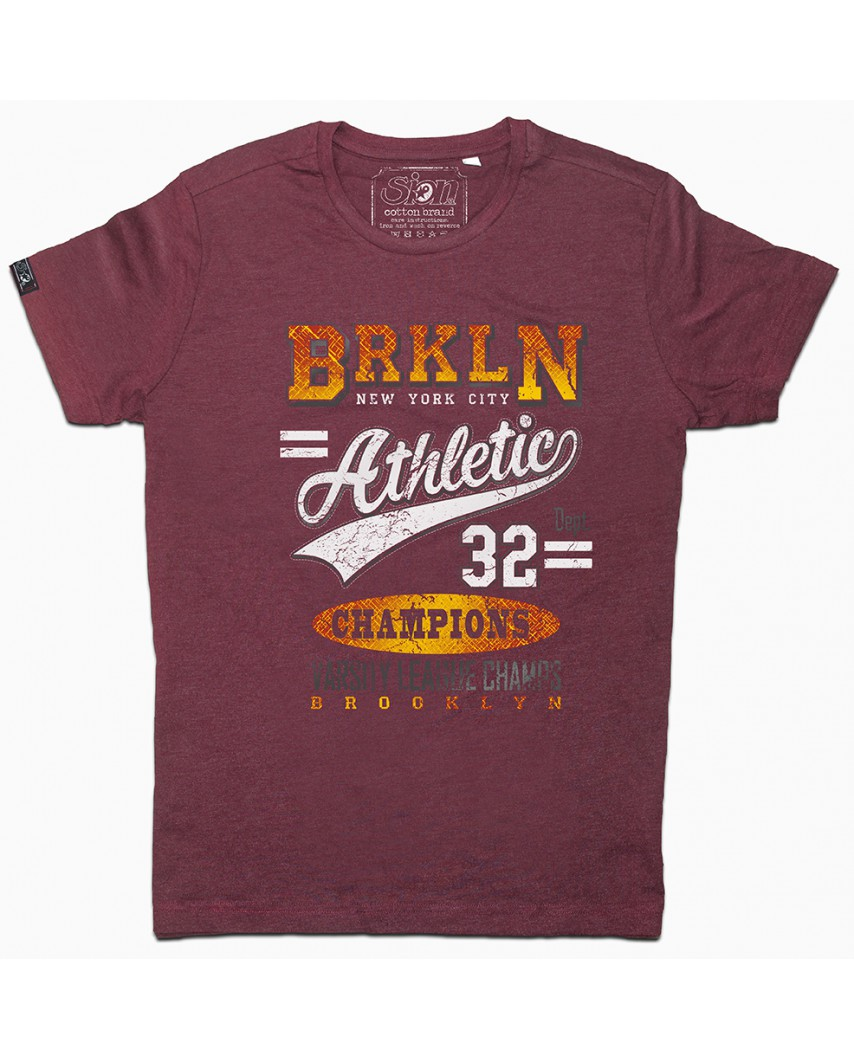 camiseta orgánica champion vino