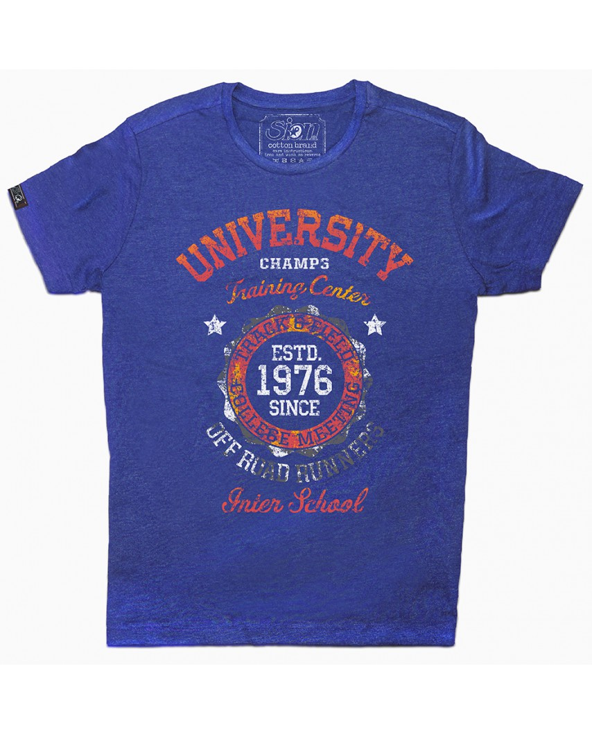 camiseta orgánica inter azul