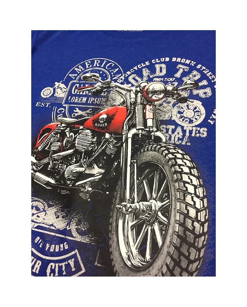 ejemplo camiseta city orgánica azul