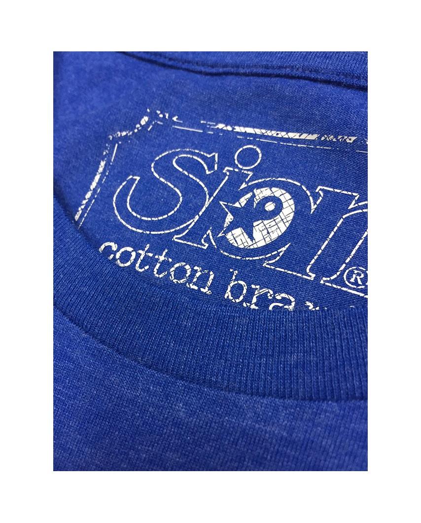 etiqueta cuello life azul